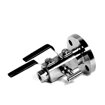 DBB-02. Válvula de doble bloqueo y purga (Brida EN1092-1 x Hembra NPT) Hasta 250 bar (3600 PSI)