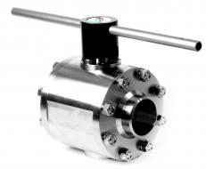 VB-65. 2-Way 3-Pieces Full(FB) or Reduced(RB) Bore Trunnion Ball Valve Up to 160 bar (2286 PSI)