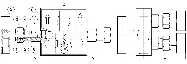 TECVAL mb25-desp-cotes-horitzontal