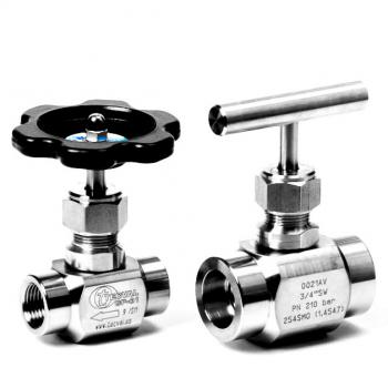 CP-01. Back-Seat Needle Valve (FxF) Working Pressures: 100 | 210 bar (1500 | 3000 PSI)