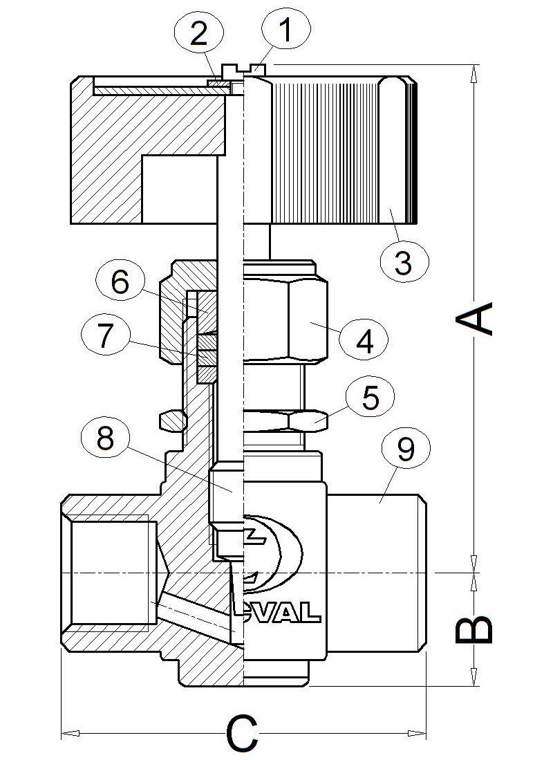 TECVAL rg91-desp-cotes-fitxa-antiga