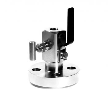 SBB-03. Válvula de bloqueo y purga (Brida ASME B16.5 x NPT Hembra) Hasta 250 bar (3600 PSI)