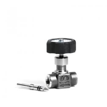 RG-90. Needle Valve for Gases (FxF) Working Pressure 210 bar (3000 PSI)