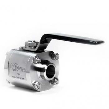 VB-15. 2-Way 3-Pieces Ball Valve (FxF) Up to 210 bar (3000 PSI)