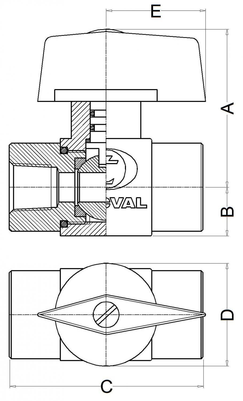 TECVAL vb08-cotes